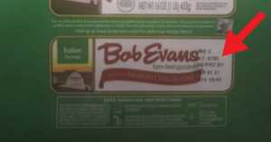 recalled Bob Evans sausage labels