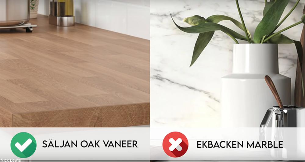 Ikea countertops