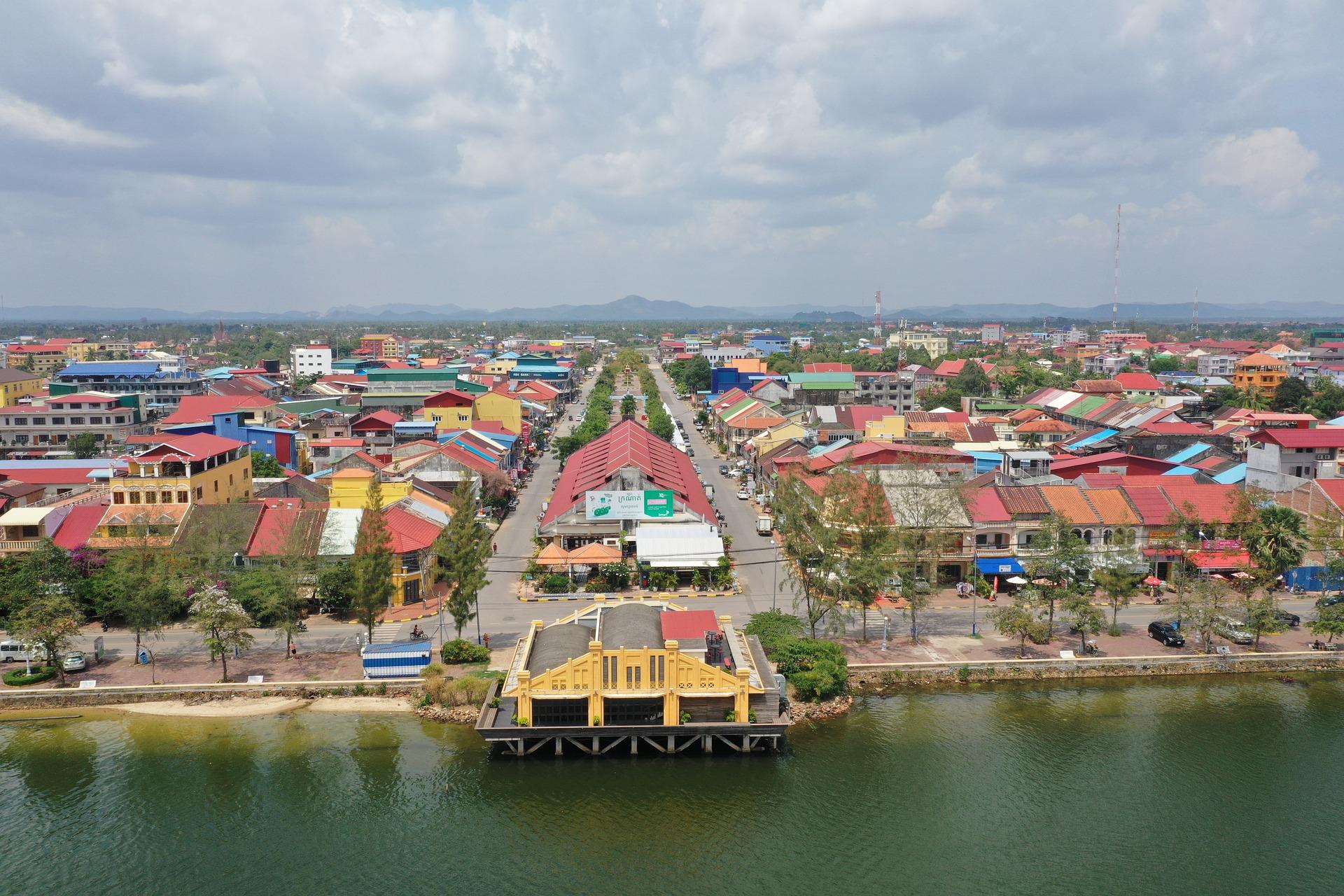Kampot City Cambodia