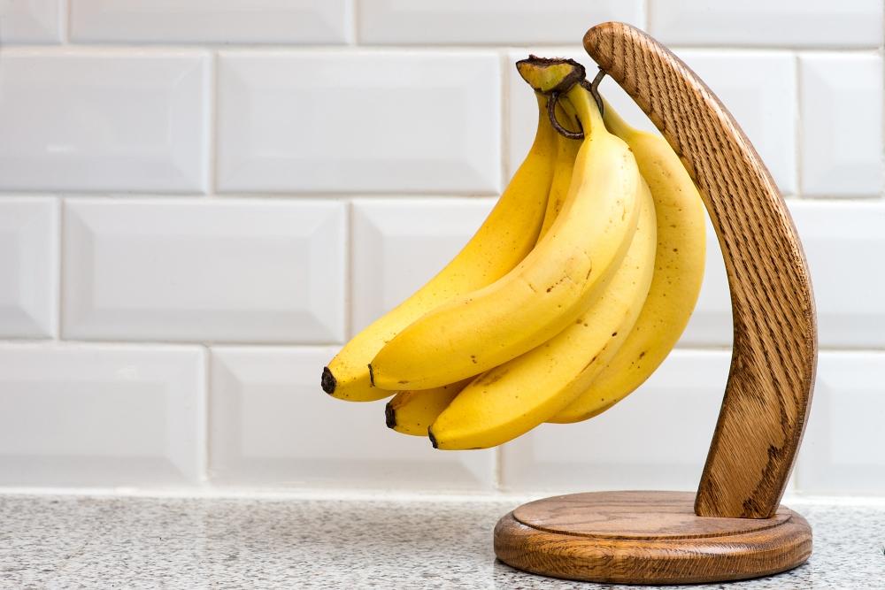 bananas on countertop