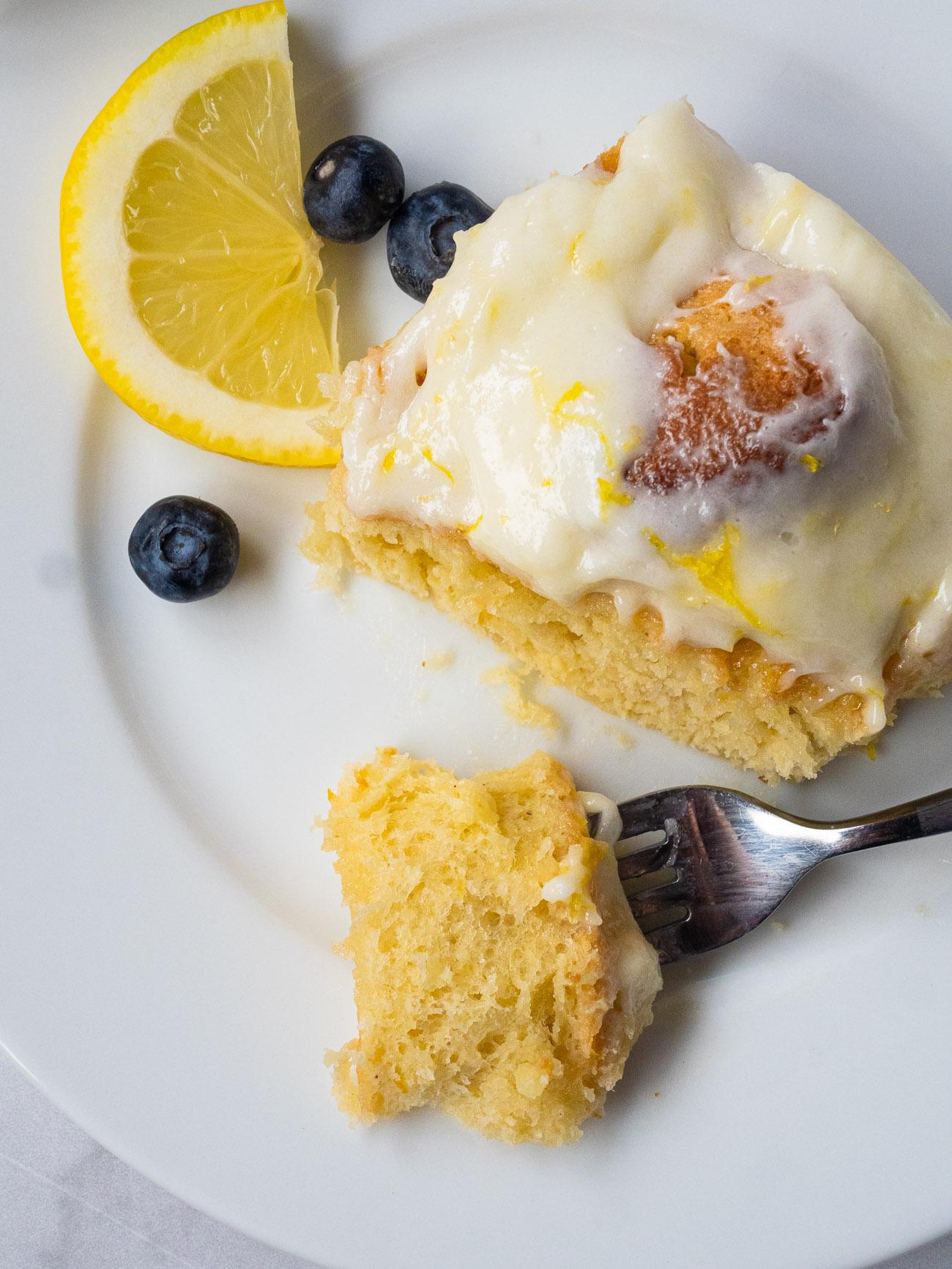 Lemon Cream Cheese Sweet Rolls