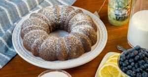 Czech Poppy Seed Cake