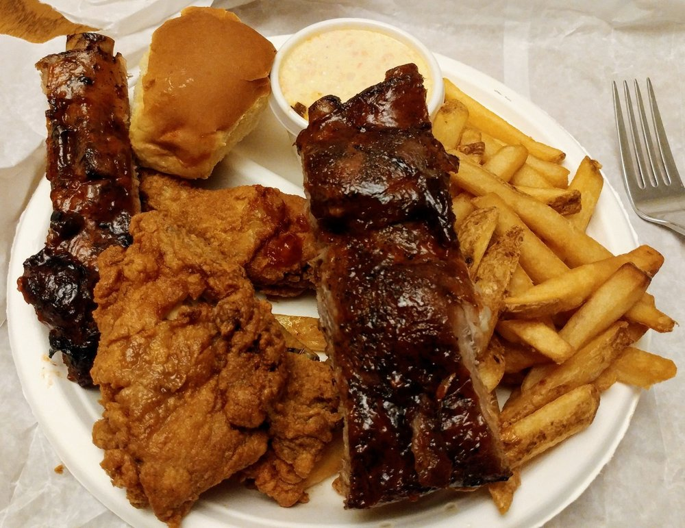 Hen House BBQ chicken and wings