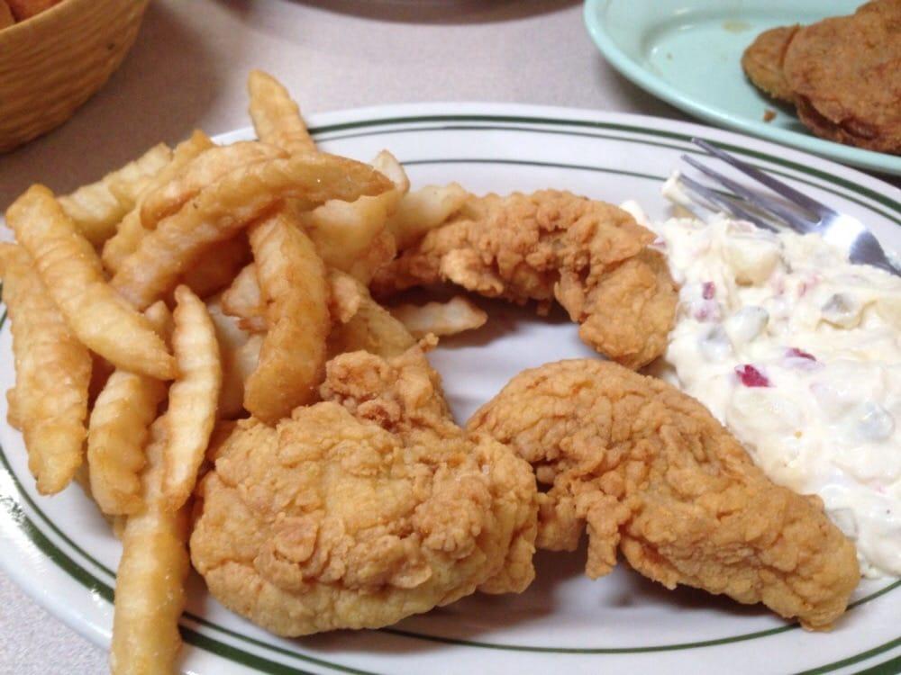 Chicken Finger Plate