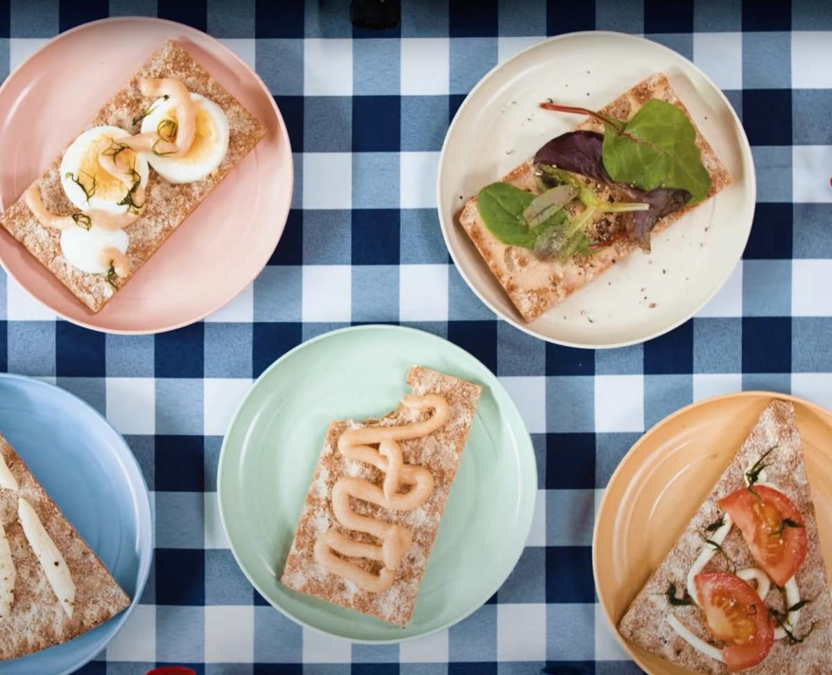 variety of Swedish Smörgås