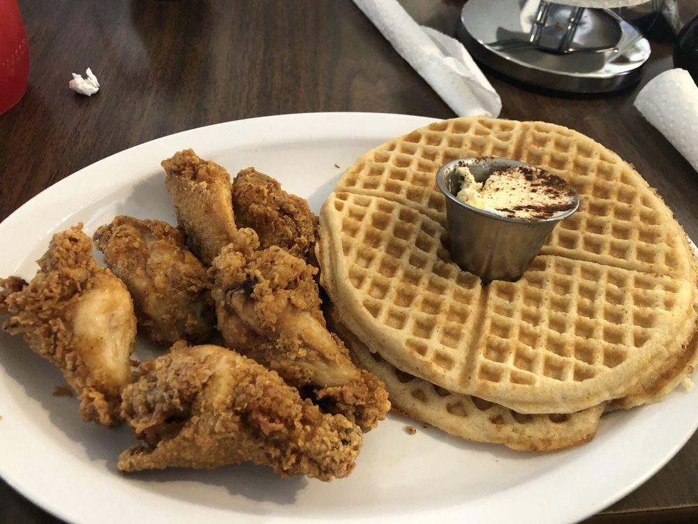 Frank's Famous Chicken and Waffles