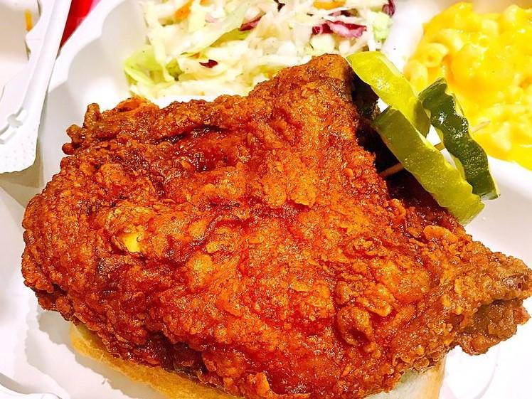 White Chicken Combo