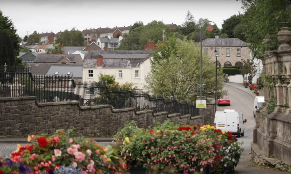 the Northern Ireland town of Loughgall