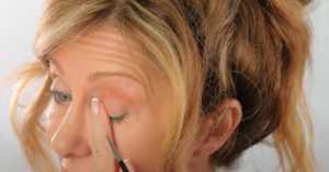 eyeliner for sagging eyes