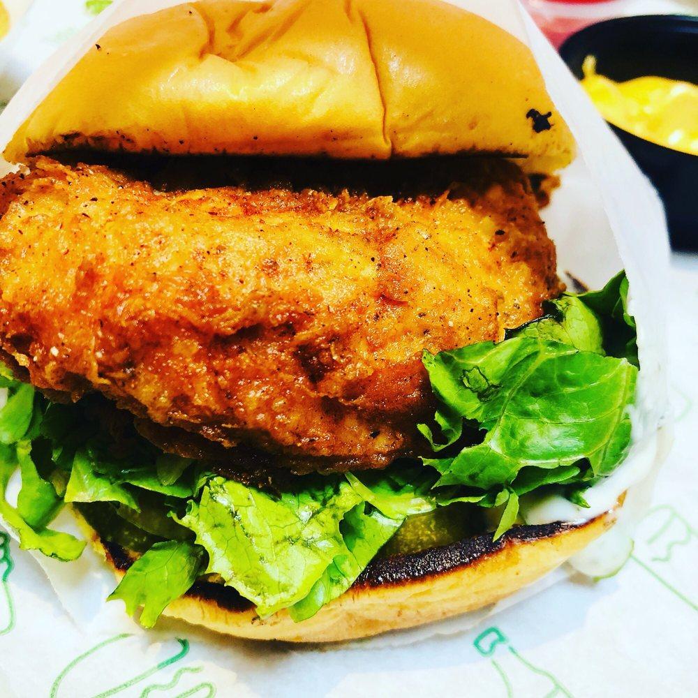 Chickn Shack Burger