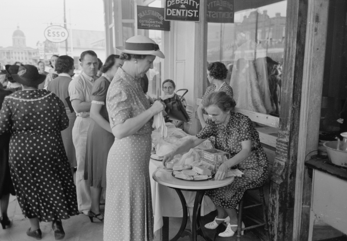 late 1930s festival, Louisiana