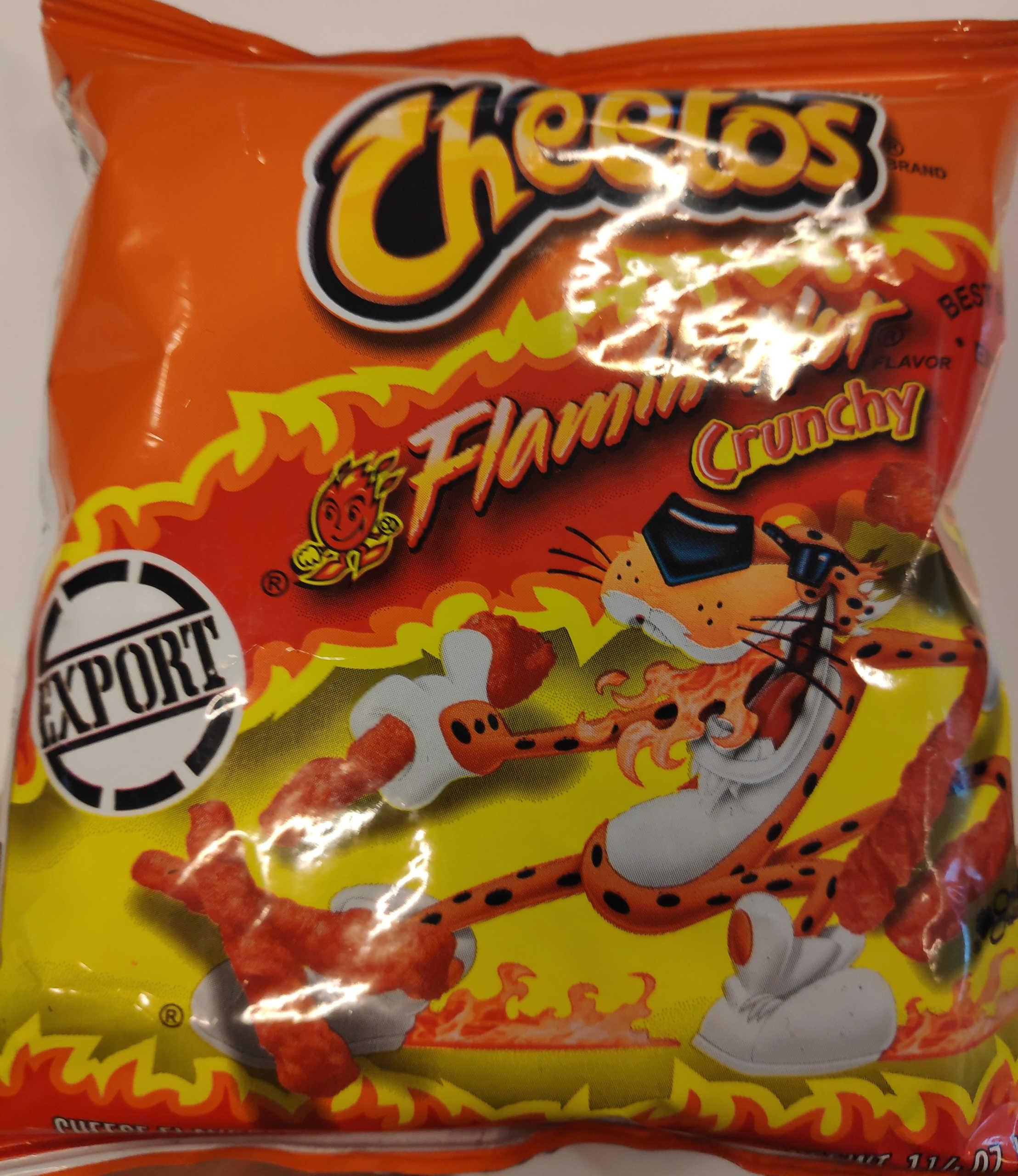Flaming Hot Cheetos