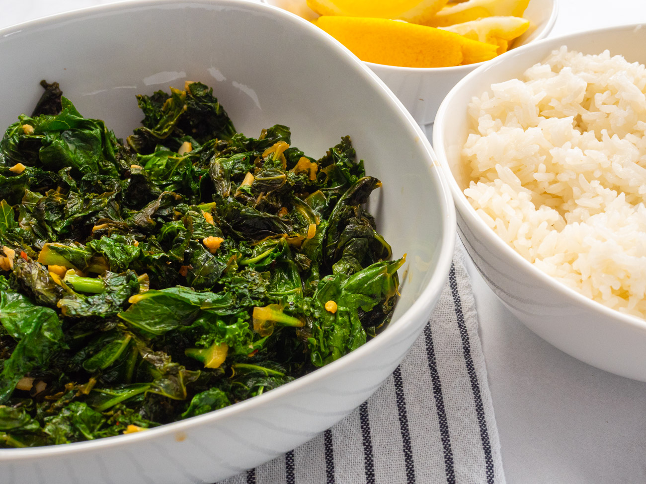 Lemon Garlic Kale Sauté