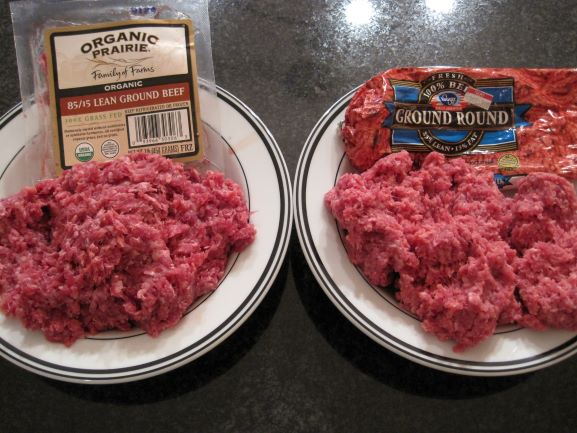 2 Different Types of Ground Beef