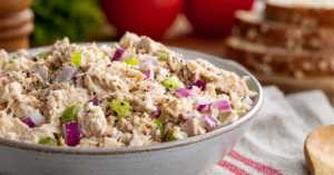 Greek Style Tuna Salad