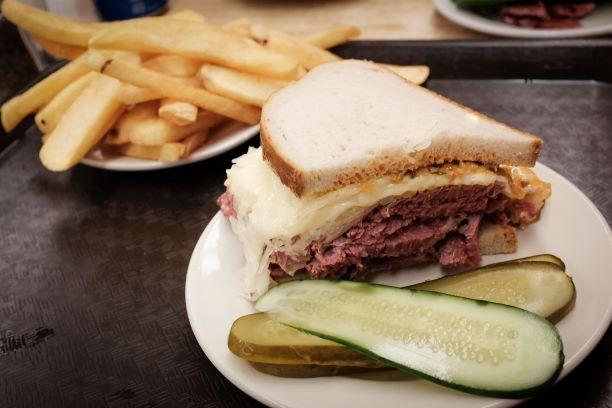 Katz' Deli Reuben Sandwich