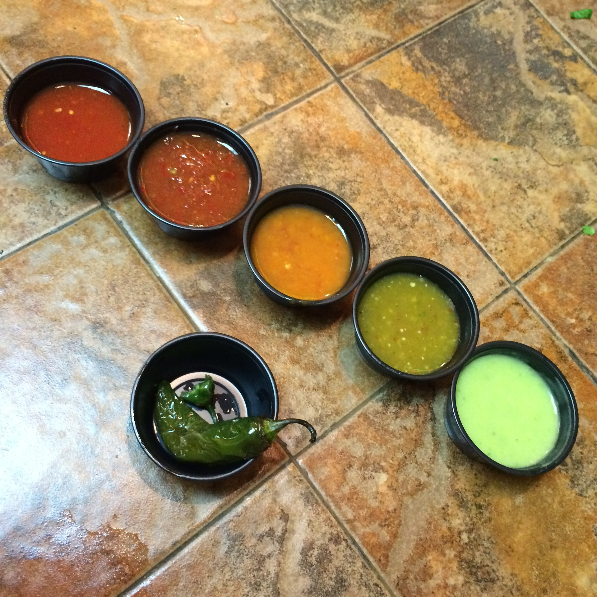 Different Hot Sauce Types