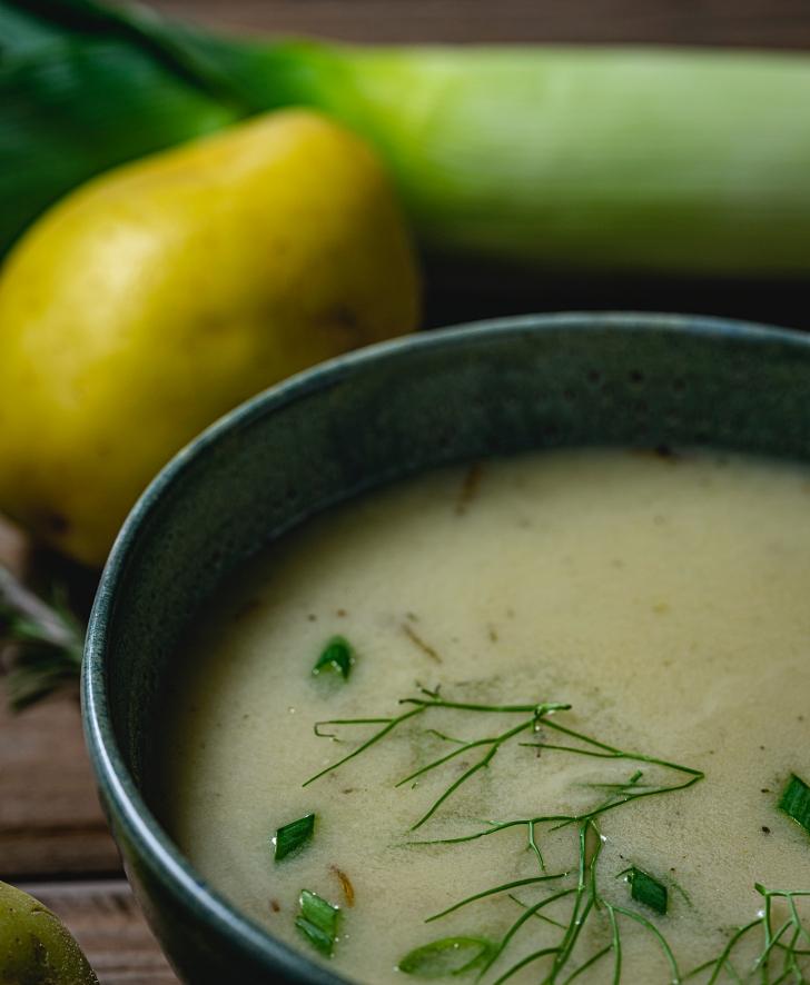 Dill Pickle Potato Soup