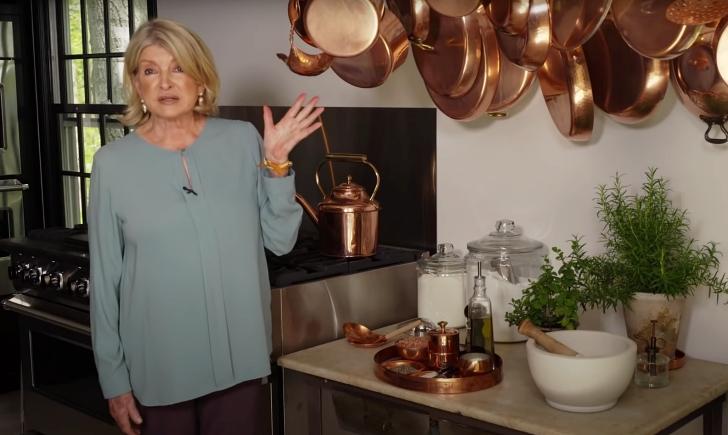 Martha Stewart hanging pots and Pans