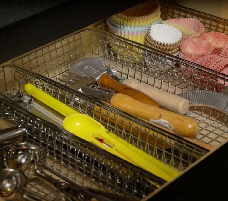 Martha Stewart baking drawer