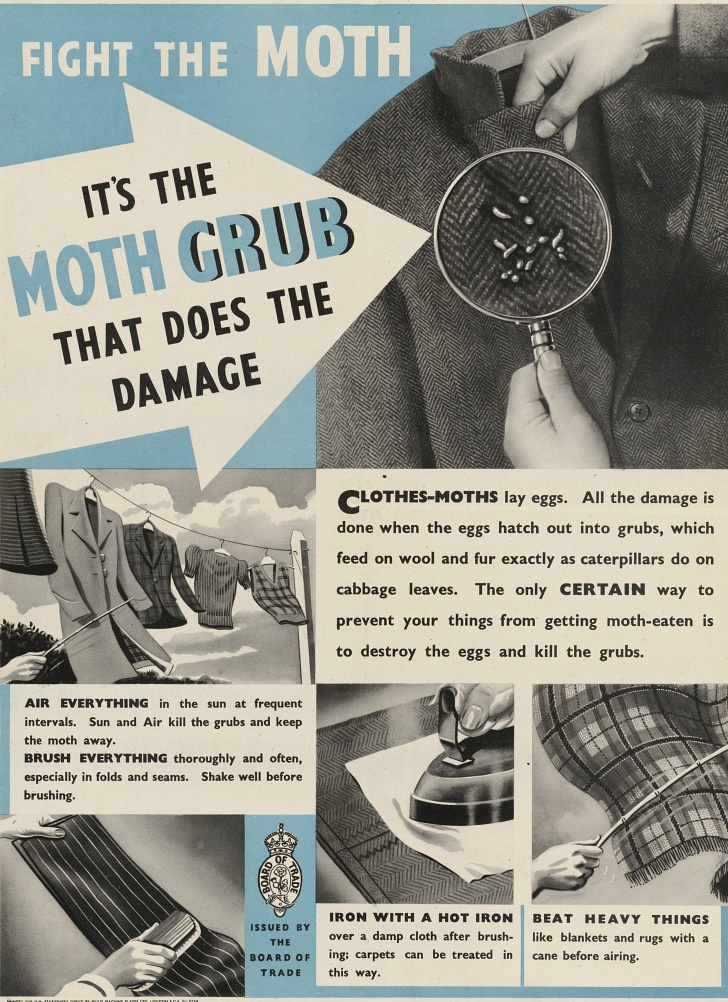 moth management WWII poster