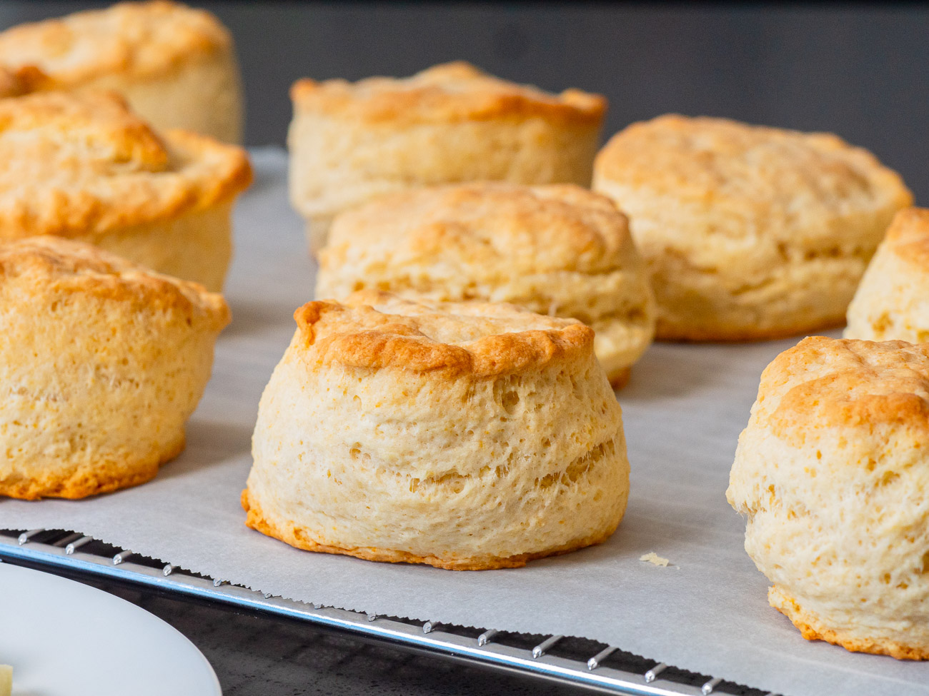 Mile-High Biscuits