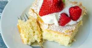 Old Fashioned Whipped Cream Cake