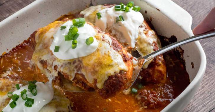 One-Pan-Taco-Chicken-Bake
