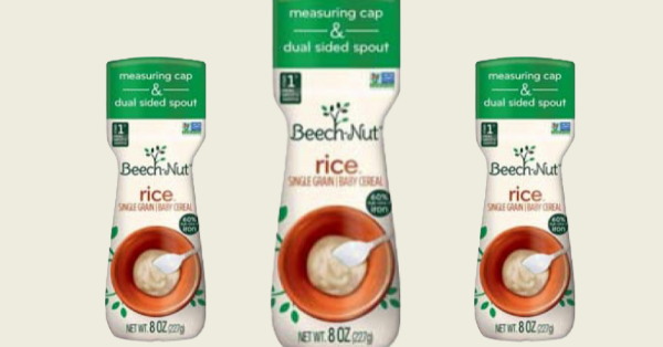 Beech-Nut Baby Rice Cereal Recalled Due To Arsenic Concerns
