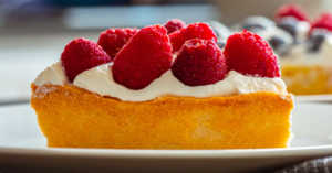Red, White, and Blue Buttermilk Pie