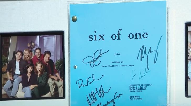 original script for Friends