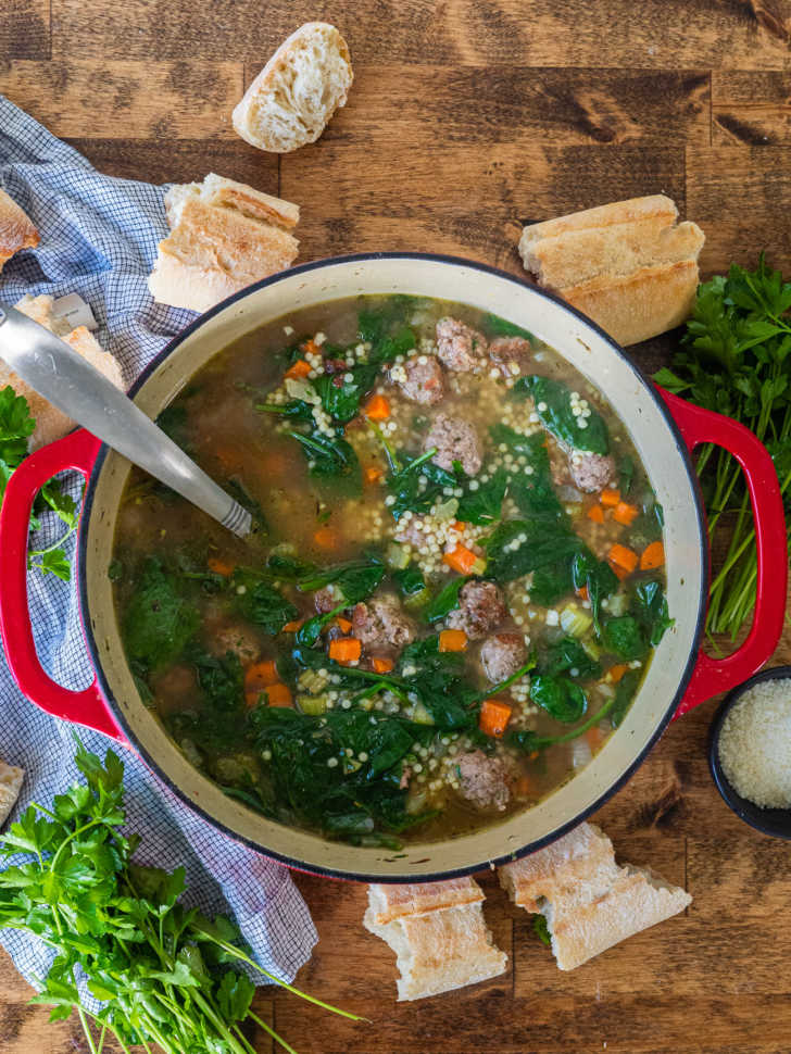 One-Pot-Italian-Wedding-Soup