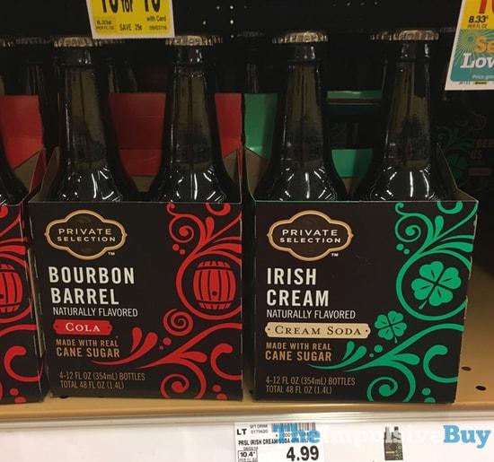 two packs of soda in bottles