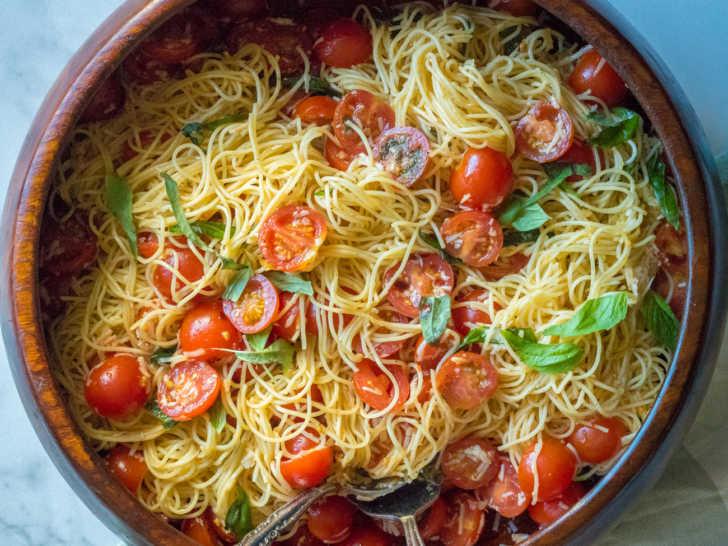 Ina Gartne's Summer Garden Pasta