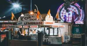State Fair Food Stall