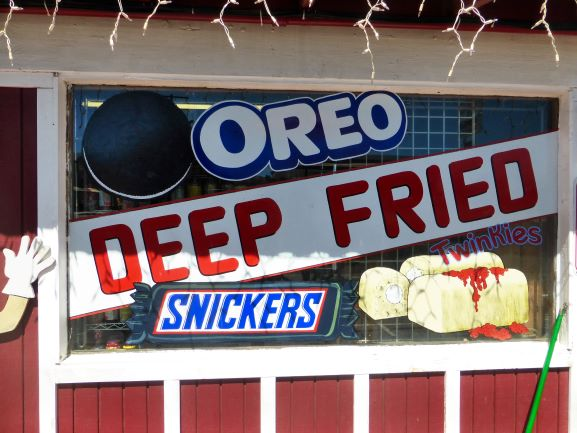 Deep Fried Candy Sign