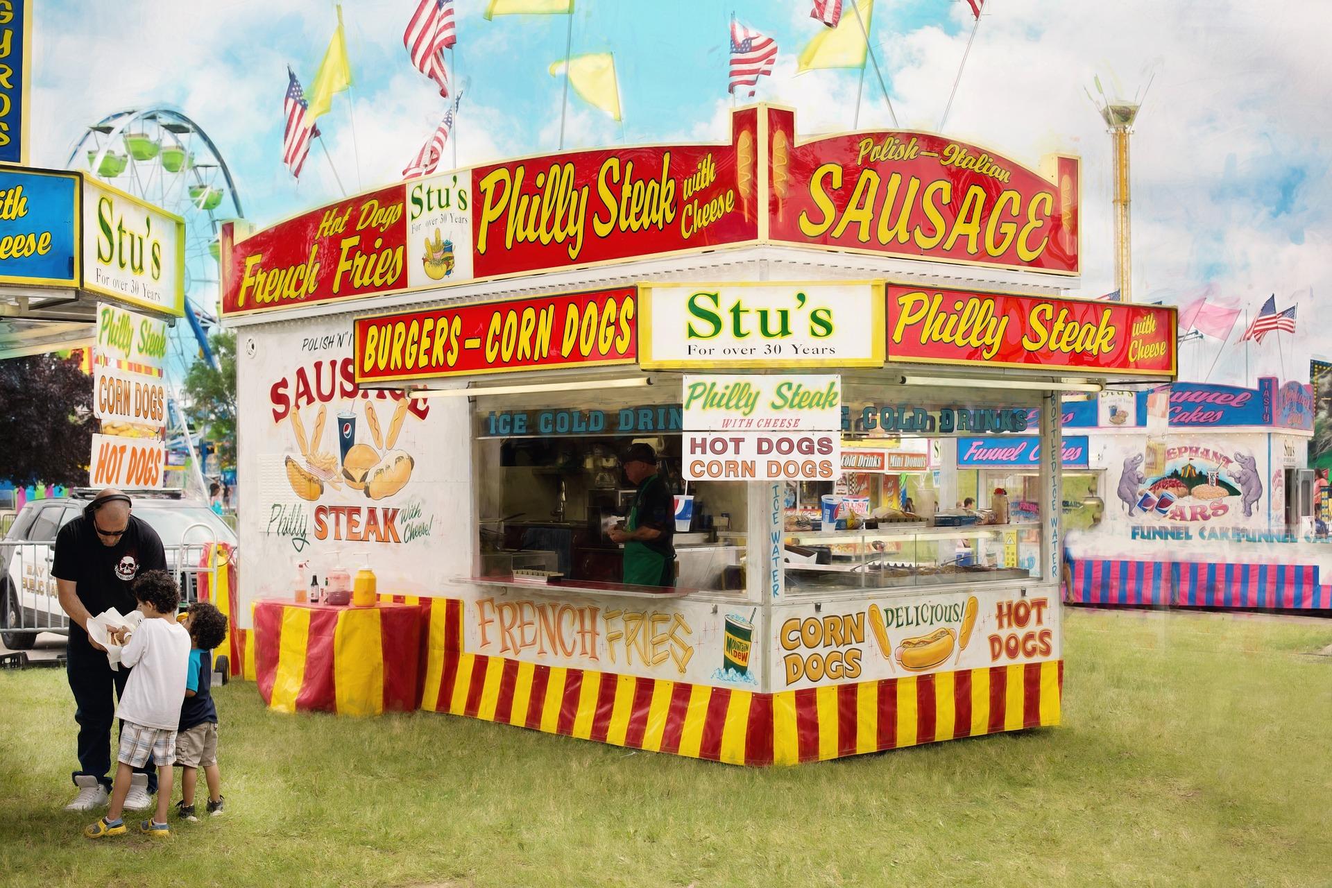 Fair Food Stall