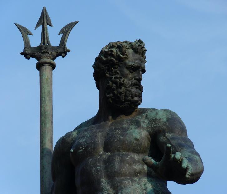 16th century Neptune statue