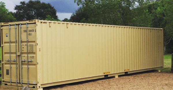 Man Transforms A Shipping Container Into An Adorable Tiny Home