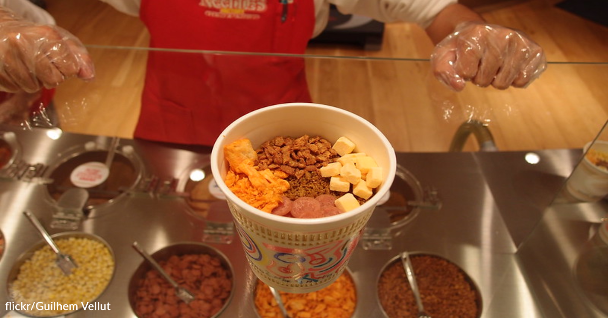 Nissin Released Cup Noodle Ice Cream That's Perfect For Summer