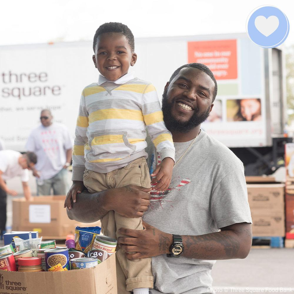 12T Cares Signature Program: Help Feed Americans in Need