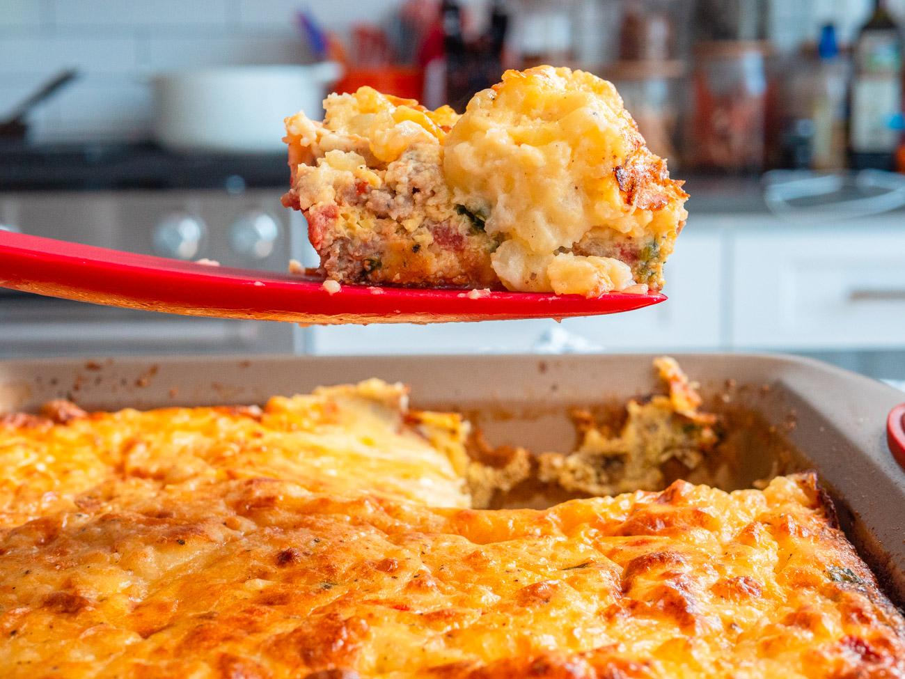 Breakfast Cottage Pie