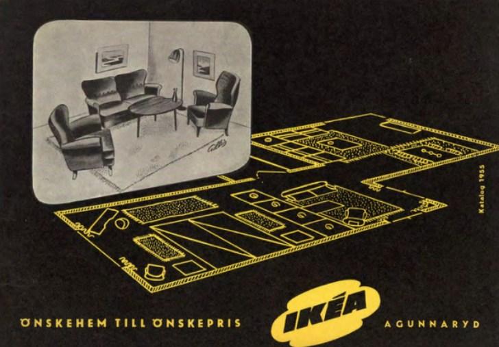 1950 IKEA catalog cover