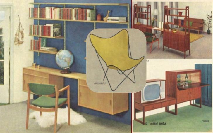 1963 IKEA catalog collage