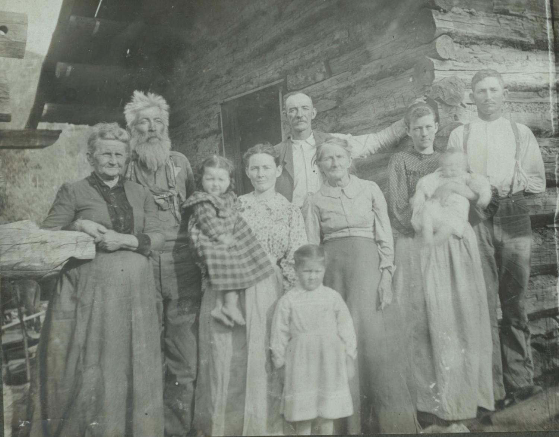 Oklahoma ranchers cabin 1900