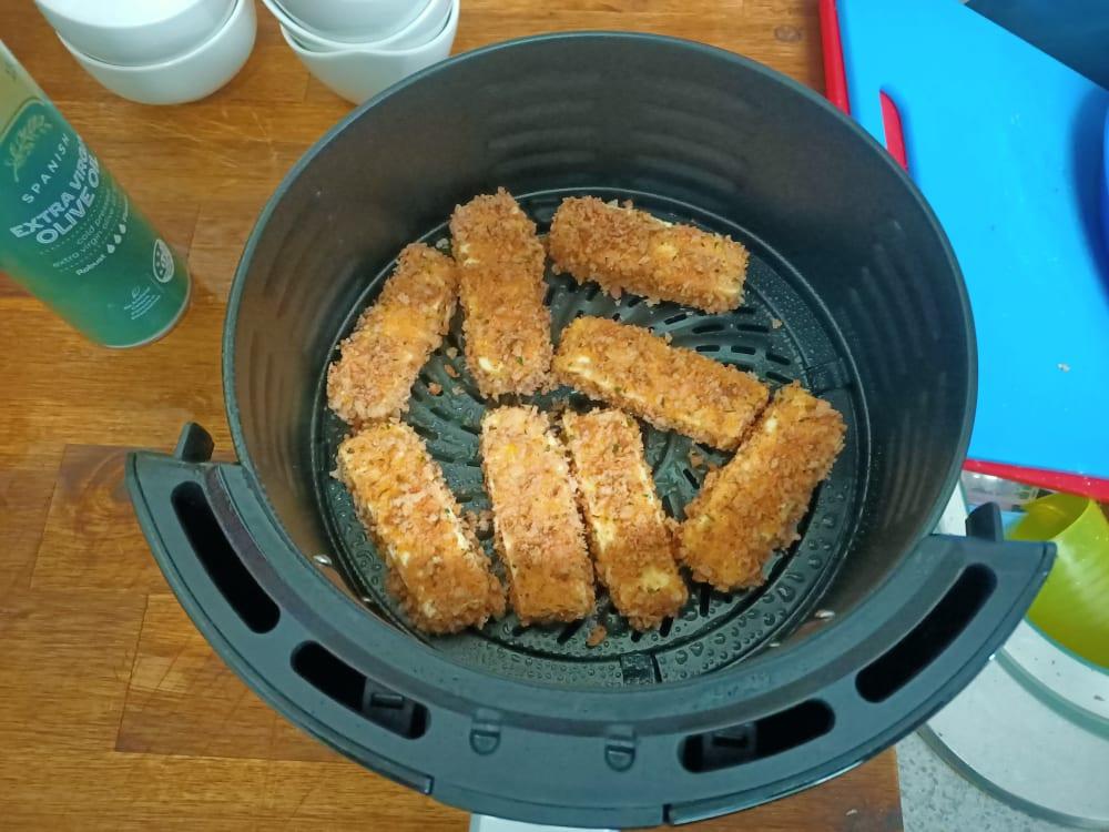 Pre Frying Halloumi