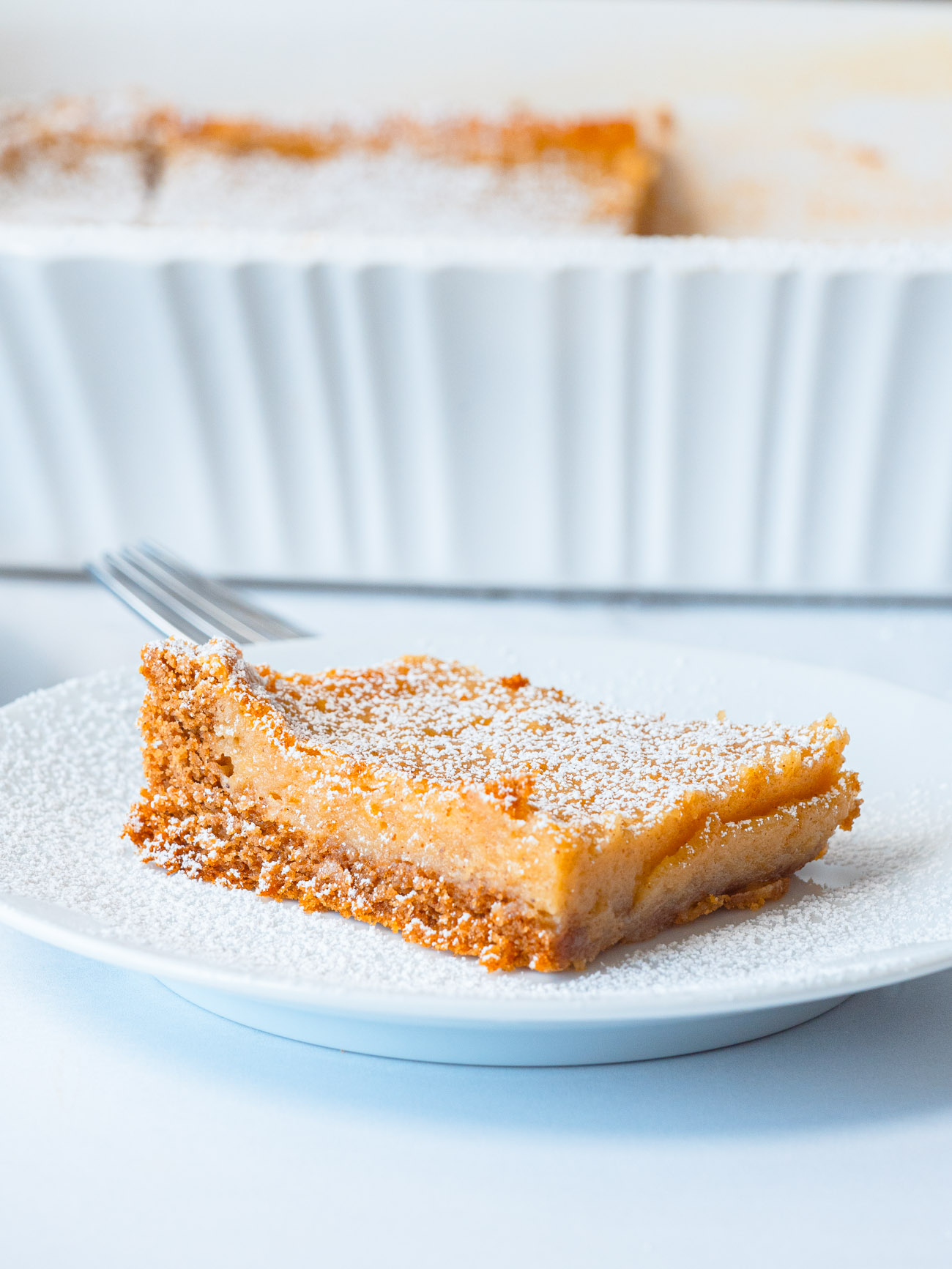 Gooey Butter Spice Cake