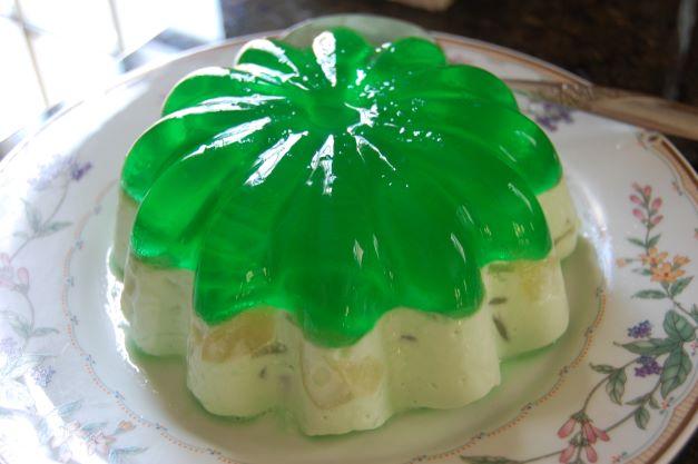 Gelatin Mold Dessert