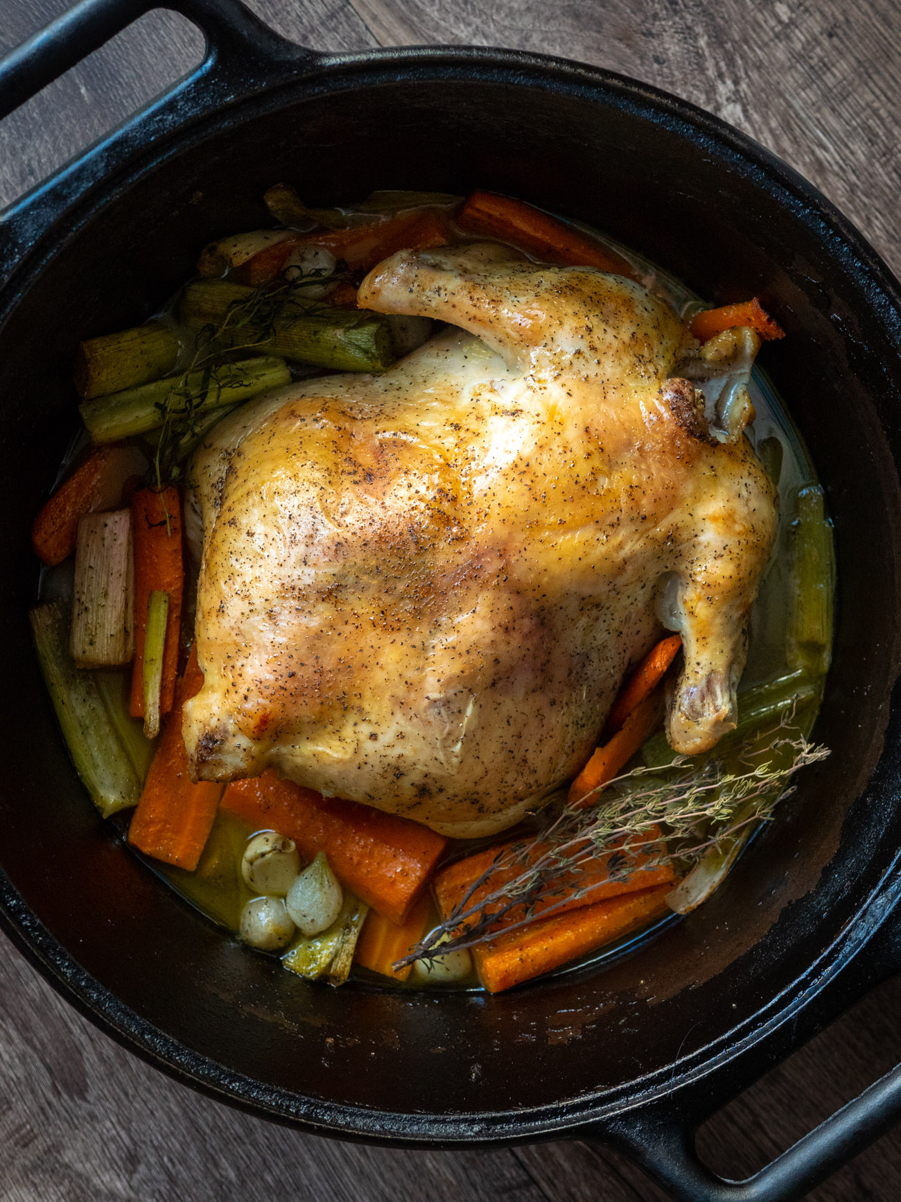 King Henry's Chicken in a Pot