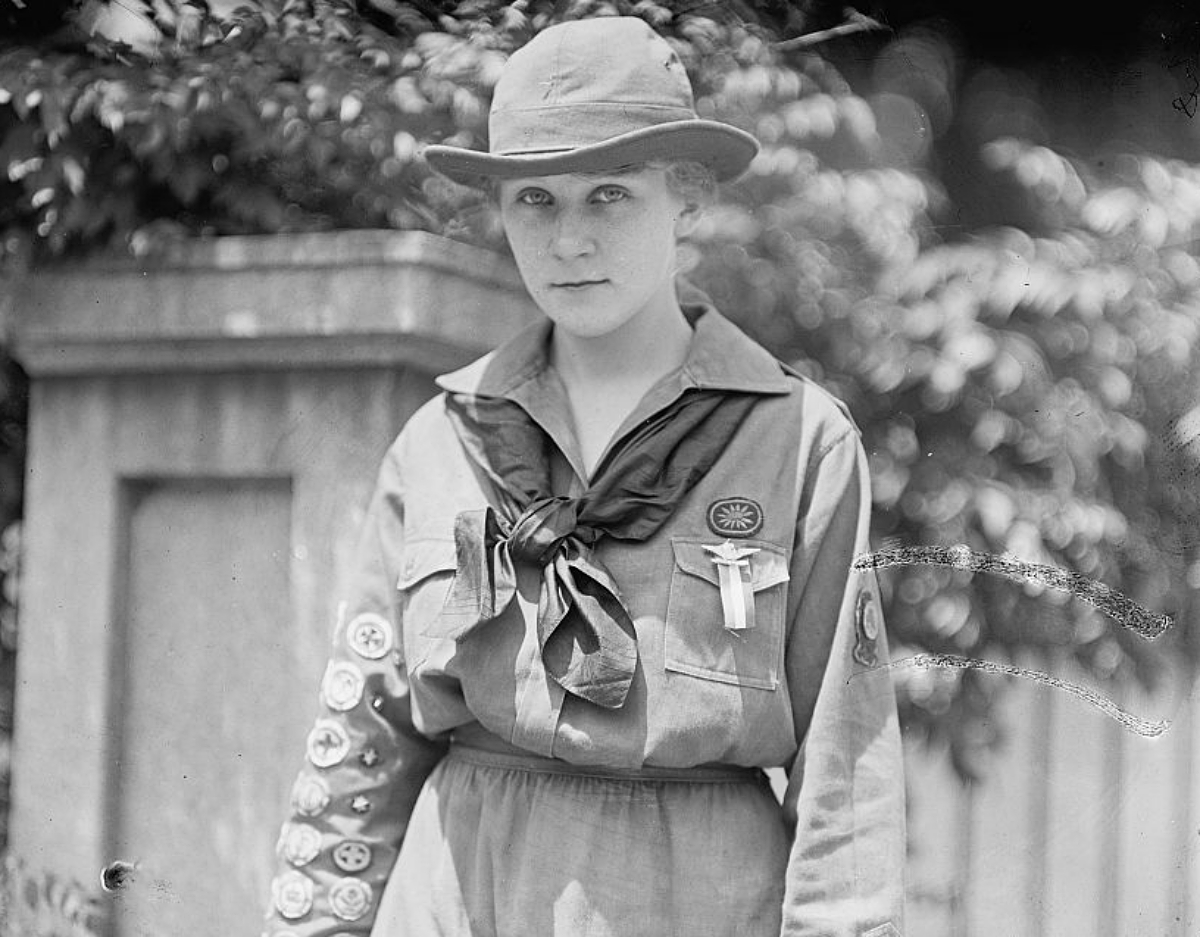 girl scout 1917